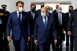 French President Macron: audit needed on Lebanon central bank