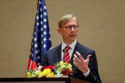 U.S. Iran envoy Brian Hook stepping down as key U.N. arms embargo vote looms