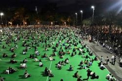 Hong Kong activists charged over banned June 4 vigil