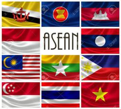 Cambodia hoists Asean flag to celebrate 53rd founding anniversary