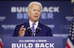 Betting markets favor Biden over Trump, but odds narrow in U.S. race
