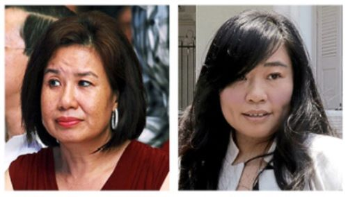 Chew (left) and Phang are expected to be charged together.