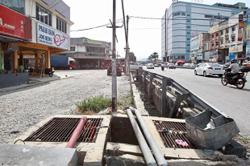 Drainage upgrade taking too long to complete, say residents