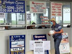 Kuching-Sibu express boats halted