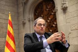 Catalan separatist leader blasts former Spanish king's exit as 'loud and ridiculous scandal'