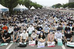 South Korea doctors protest student increase