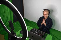 Beatboxing monk keeps the faith in hard times