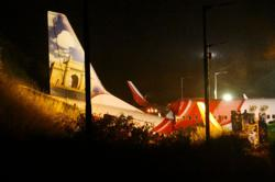 Air India repatriation flight crash-lands, at least 17 killed