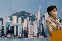 China says it opposes 'barbarous' Hong Kong sanctions by US