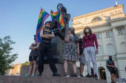 Thousands protest in Poland demanding release of LGBT activist