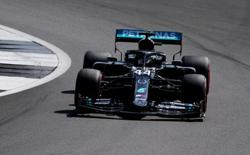 Hamilton fastest in final practice for 70th Anniversary GP