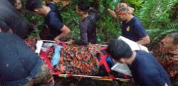 Youth seriously injured after falling from waterfall