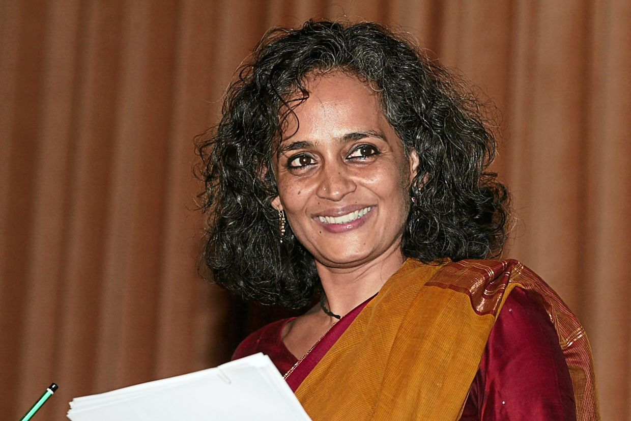 Both the margins and the marginalised speak in 'The Ministry Of Utmost Happiness', a feat Roy has also sought to achieve with both her activism and her non-fiction work. Photo: AFP
