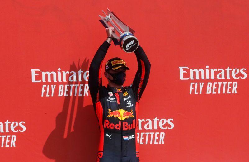 Verstappen ends Mercedes' winning streak