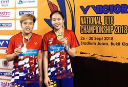 Pearly takes on Ee Wei in battle for doubles honours