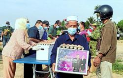 Tested Kubang Pasu folk to get aid