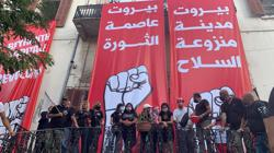 Protesters enter Lebanese foreign ministry, chant against ruling class