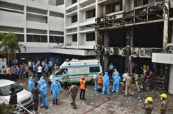 Fire kills at least nine coronavirus patients in India Covid-19 facility