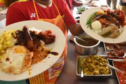 Of Malay politics and nasi kandar