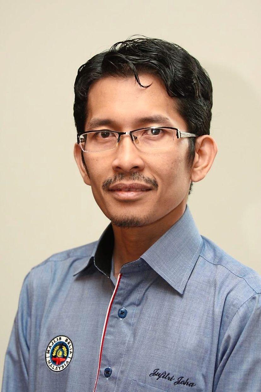 Jufitri Joha Malaysian Youth Council (MYC) president or Majlis Belia Malaysia. Handout.