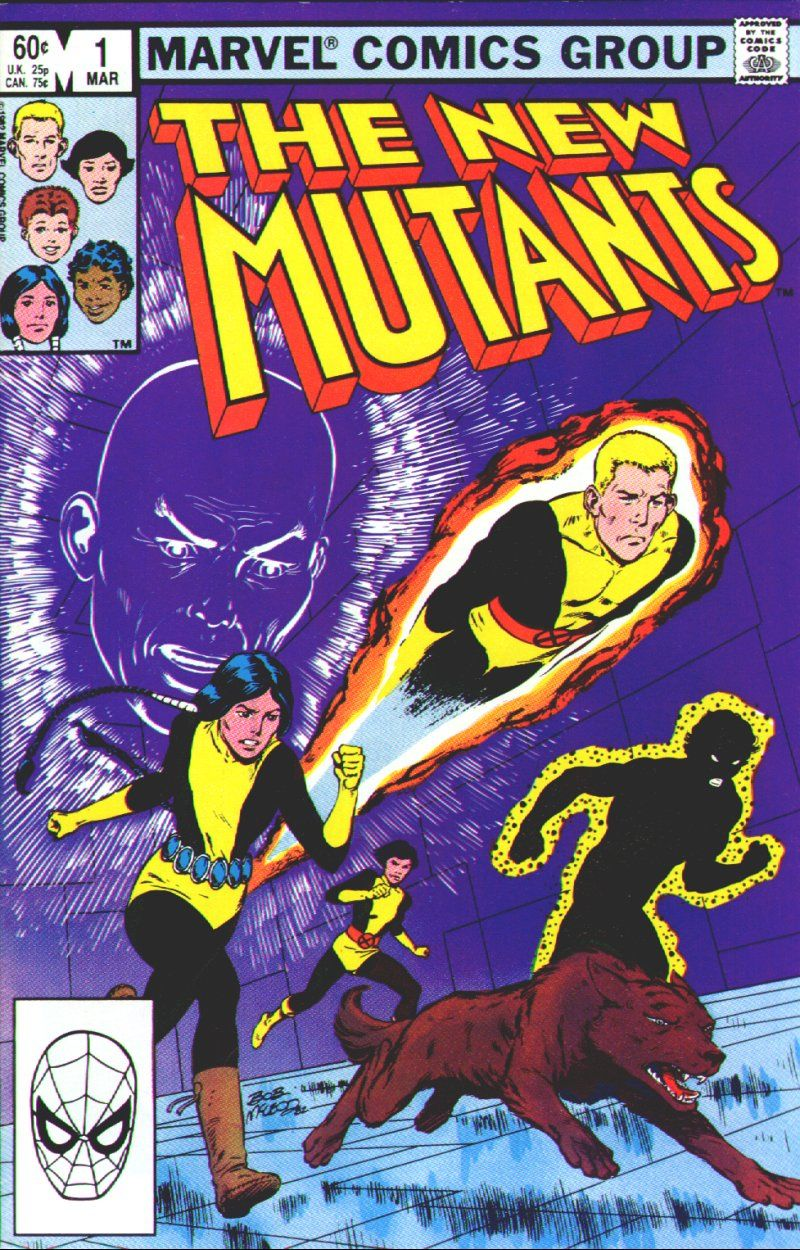 The original New Mutants comic series lasted 100 issues.