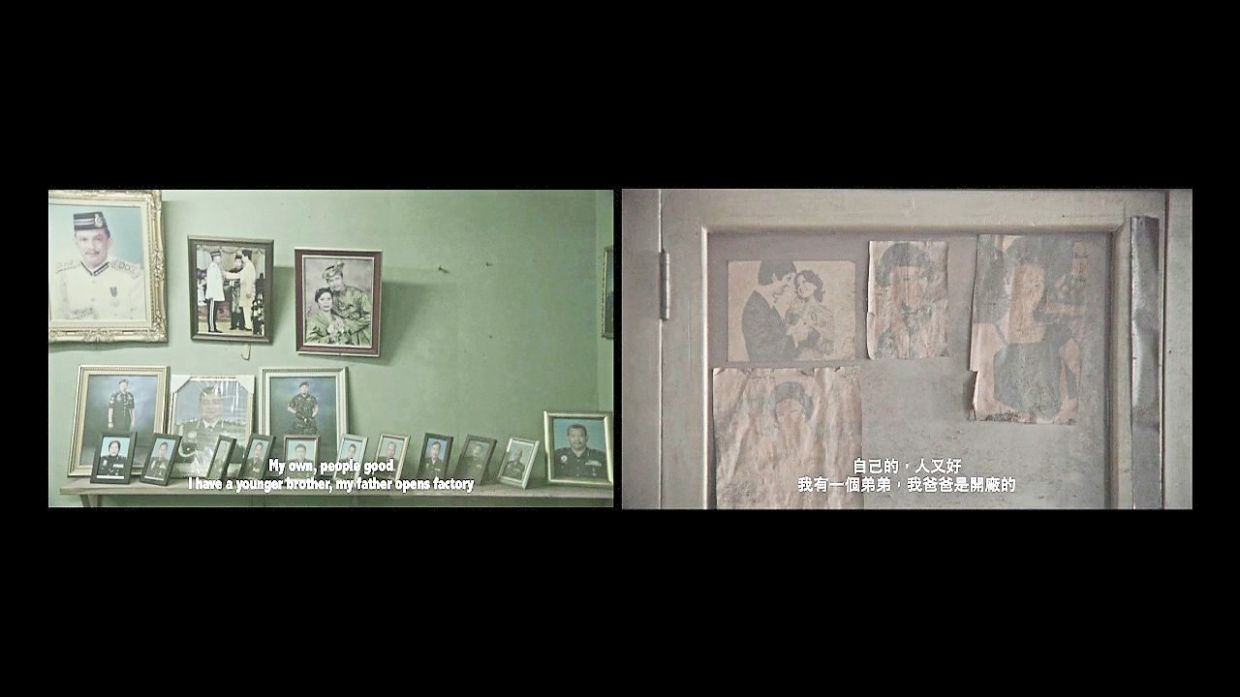 A video still from Au Sow Yee's work 'Pak Tai Foto'. Photo: Handout
