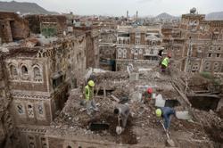 Yemen's UNESCO-listed Old Sanaa houses collapse in heavy rains