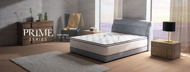 The Coway Prime Series mattress can provide great support and ensure minimal disturbance to our sleep.
