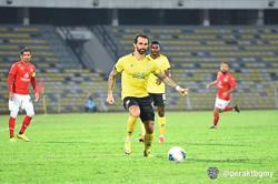 Coach happy with fighting Seladang
