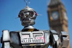 Human Rights Watch eyes treaty banning 'killer robots'