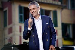Andrea Bocelli learns to sing in Mandarin for war epic The Eight Hundred