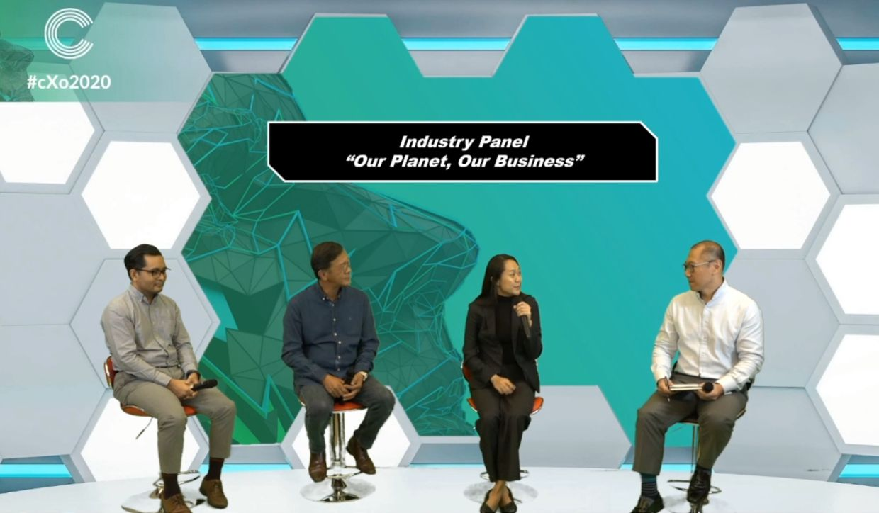 Day 4 panel:  (from left)  <a href='/business/marketwatch/stocks/?qcounter=SIMEPLT' target='_blank'>Sime Darby Plantation</a><a href='http://charts.thestar.com.my/?s=SIMEPLT' target='_blank'><img class='go-chart' src='https://cdn.thestar.com.my/Themes/img/chart.png' /></a> head of group sustainability Rashyid Anwarudin, The Holstein Milk Company founder and managing director Loi Tuan Ee, CIMB senior managing director and head group sustainability Luanne Sieh, and PwC Malaysia consulting and sustainability and climate change leader Andrew Chan.