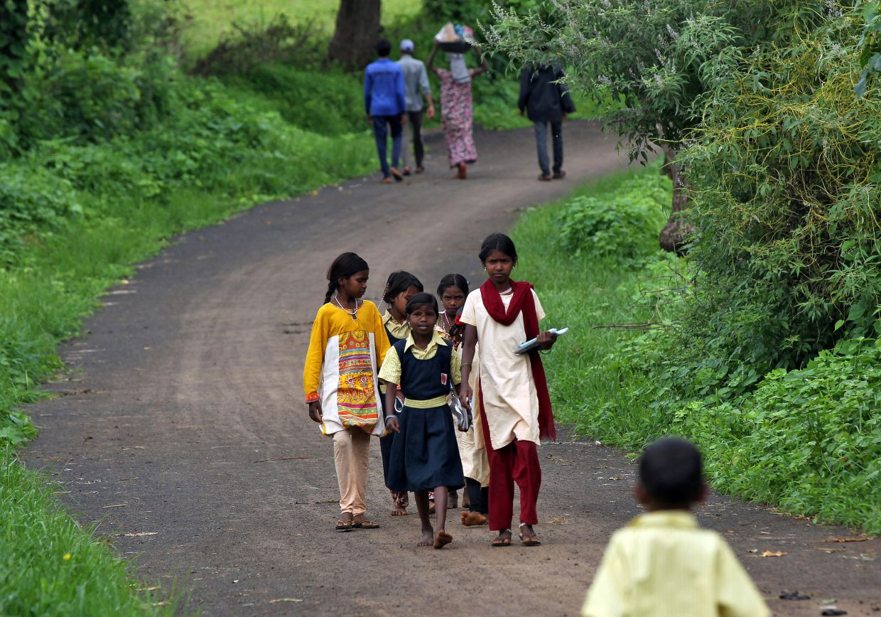 The change in behaviour in rural India - where two-thirds of its 1.3 billion people live, often with only the most basic health facilities - has come as infections in the countryside have surged.