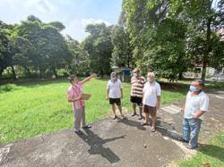 Residents want park built in Taman Fadason