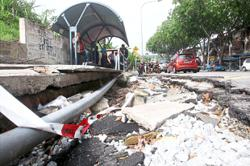 Fragile infrastructure in older areas of city prone to breakage