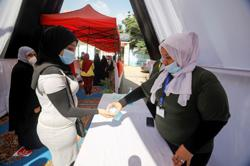 Egyptians vote for newly created Senate