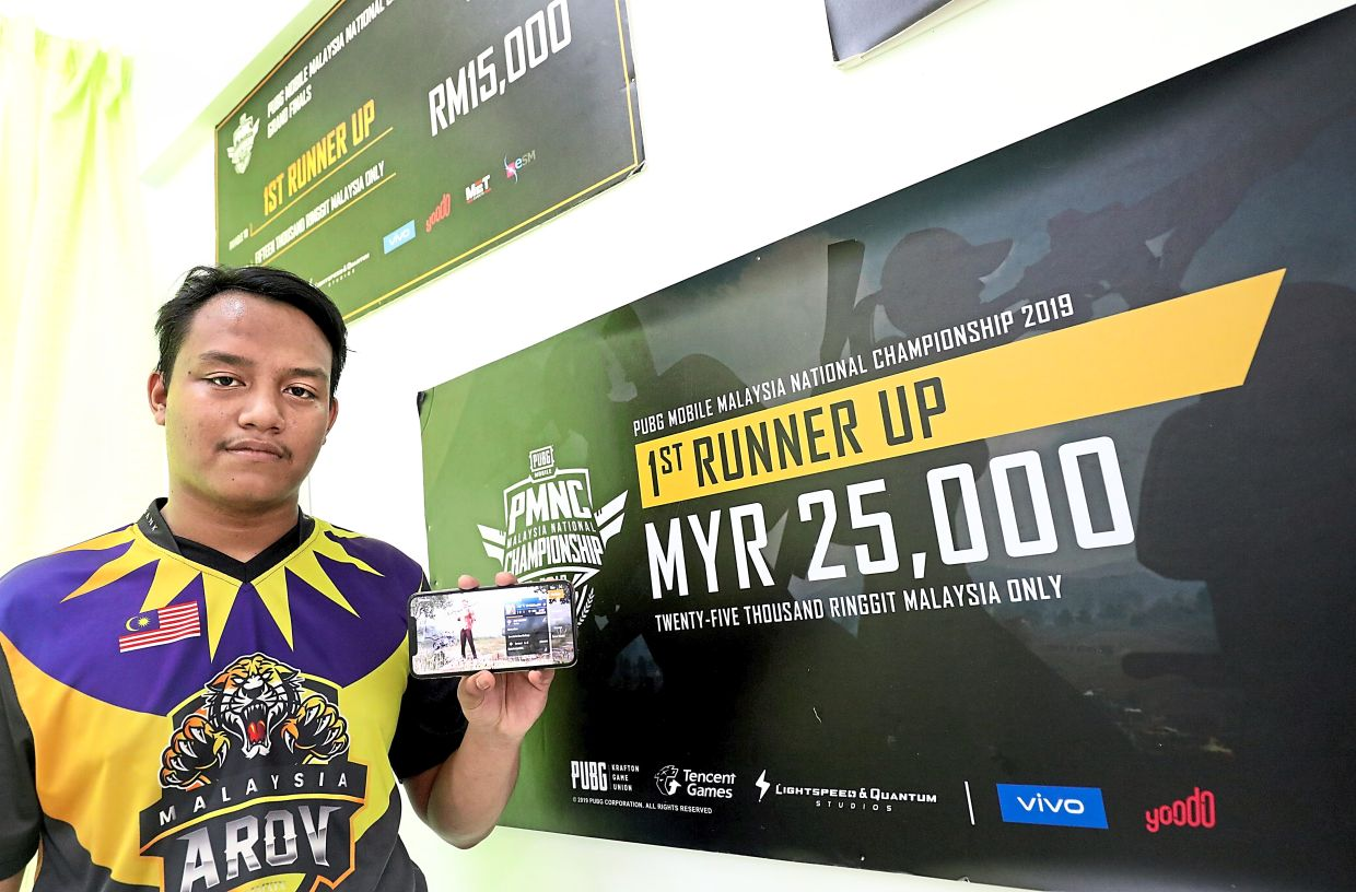 Muhammad Aiman cannot go overseas to compete in e-sport tournaments because of his lack of citizenship.
