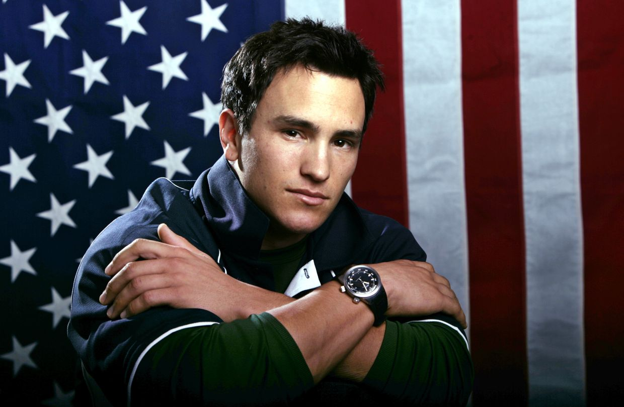 Many athletes, like Jeremy Bloom, are sharing their pain for the first time in HBO's 'The Weight Of Gold', which aims to expose the problem, incite change among Olympics leadership and help others experiencing similar issues feel less alone. Photo: AP