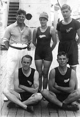 Antwerp pioneers established legacy for future NZ Olympians