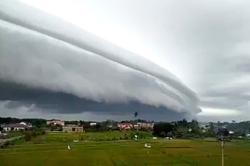 'Tsunami cloud' goes viral, sparking fake news