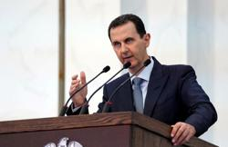 Syria's Assad says new U.S. sanctions are part of drive to 'choke' Syrians