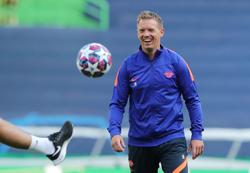 Leipzig coach shrugs off Werner absence