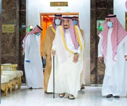 Saudi Arabian King Salman arrives in NEOM for rest and relaxation - state news agency