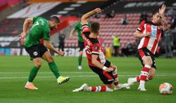 Brighton's Maupay gets legal support from Premier League after online abuse