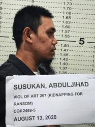 Wanted Abu Sayyaf gunman arrested in Davao City