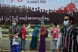 Myanmar reports eight more Covid-19 cases