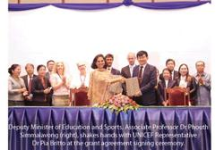 Laos gets UNICEF funding to mitigate impact of Covid-19 on education