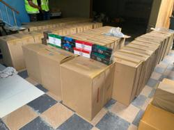 GOF seizes almost RM496,000 worth of smuggled cigarettes in Sibu raid