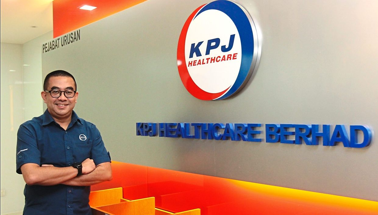 Consistent service: Ahmad Shahizam says the board plans to improve the service level so that wherever you go in the KPJ system, you would be able to get the same level of clinical care and service that is expected.