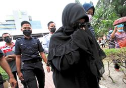 RM8,000 fine for 'pink tag' woman who defied quarantine order